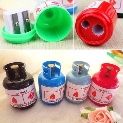 Organic Color Will Be Random Gas Canisters Shape Design Plastic Other Creative Stationery
