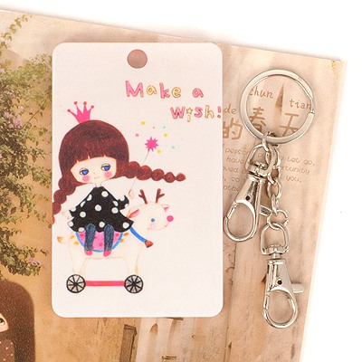 Discount Picture Color Twist Braid Girl Pattern Design Abs Resin Household goods