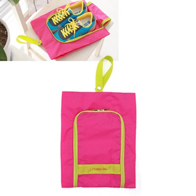 Denim Picture Color Small Size Foldable Design Nylon Home Storage Bags