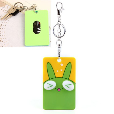 Elegant Picture Color Cute Animal Pattern Bus Card Holder Silicone Household goods