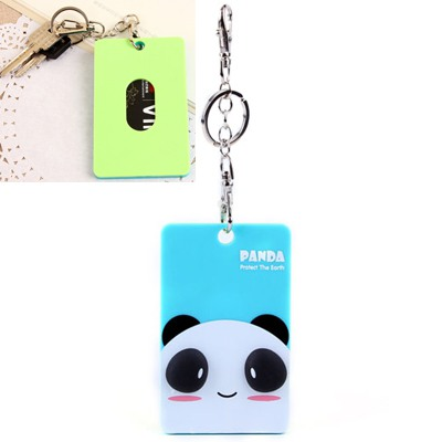 Rubber Picture Color Cute Animal Pattern Bus Card Holder Silicone Household goods