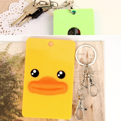 Promotiona Picture Color Cute Animal Pattern Bus Card Holder Silicone Household goods