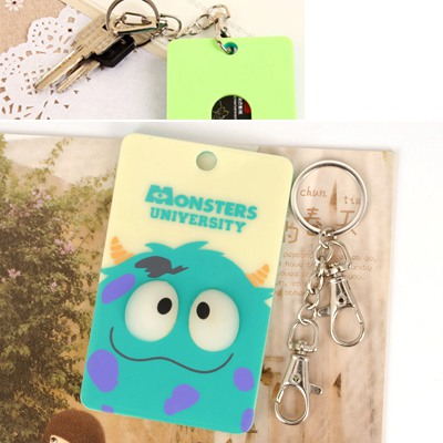 Wide Picture Color Cute Animal Pattern Bus Card Holder Silicone Household goods
