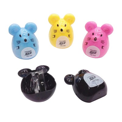 Fall Color Will Be Random Cartoon Mouse Shape Design Plastic Household goods