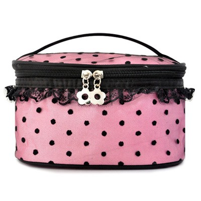Infinity Pink Lace Decorated Large Capacity Design