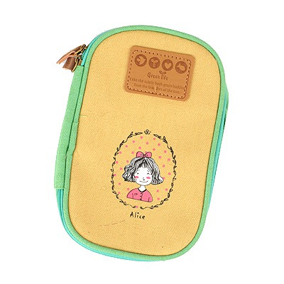 Polaris Ginger Cartoon Image Multipurpose Receive Bag Linen Pencil Case Paper Bags