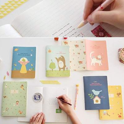 Fantasy Color Will Be Random Rural Style Notebook Paper Notebook Agenda