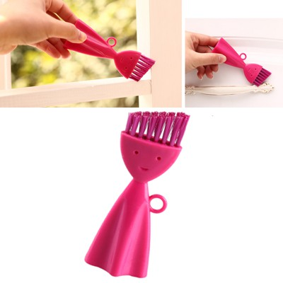 Wedding Plum Red Smile Face Can Be Hanged Cracks Brush ABS Household goods