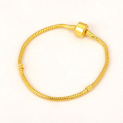 Tie Gold Color Simple Design Copper Fashion Bracelets