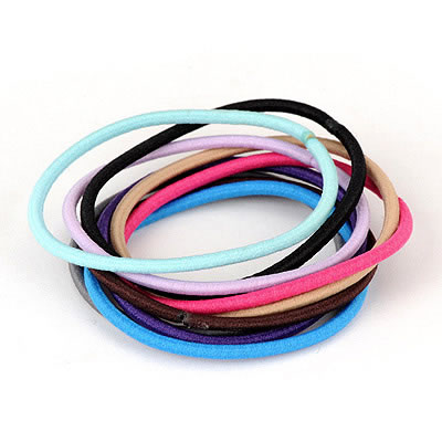 Monogramme Color Will Be Random Candy Color Design Rubber Band Hair band hair hoop
