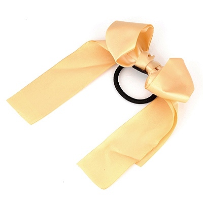 Heather Ginger Bowknot Style Silk Hair band hair hoop