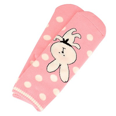 Mechanical Pink Dot Rabbit Pattern Pattern Cotton Fashion Socks