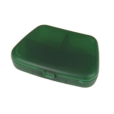 Heather Green 5 Grids Simple Design Plastic Household goods
