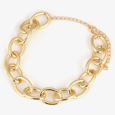 Timeless Gold Color Series Chain Simple Design Alloy Chains