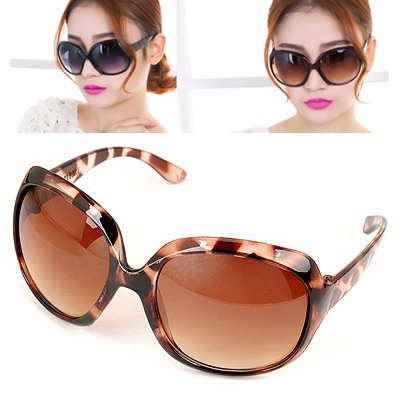 Retro Leopard Big Frame Simple Design