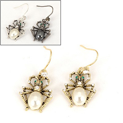 Electric Color Will Be Random Spider Shape Design Alloy Fashion earrings