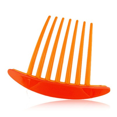 Hemming Orange Seven Tooth Simple Design Rosin Hair clip hair claw