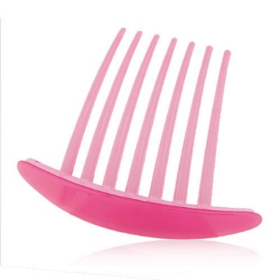 Dickie Pink Seven Tooth Simple Design Rosin Hair clip hair claw