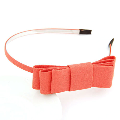 Buckle watermelonred bowknotdecoratedsimpledesign alloy Hair band hair hoop