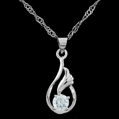 Roller silver color diamond decorated simple design alloy Chains