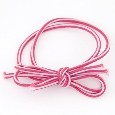 Personal Plum Red Bowknot Shape Simple Design Rubber Band Hair band hair hoop