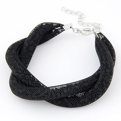 Golf Black Double Layer Simple Design Bead Korean Fashion Bracelet