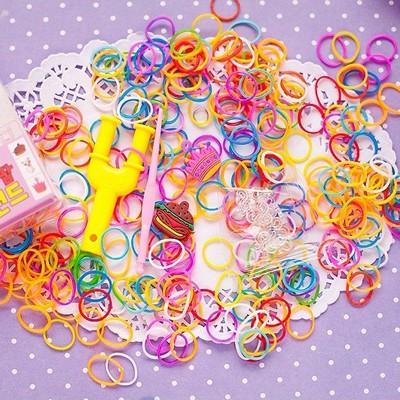 Designer Color Will Be Random DIY Simple Design Rubber Band Korean Fashion Bracelet