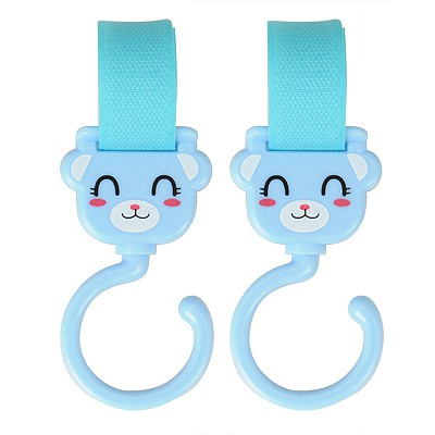 Bead Sky Blue Cartoon Bear Multifunction Design Plastic Household goods