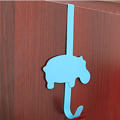 Cheerleadi Blue Cartoon Cow Decorated No Need Nail Design Metal Household goods