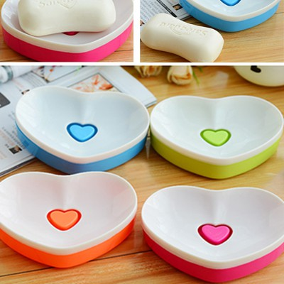 Caspari Color Will Be Random Double Layer Heart Shape Design Plastic Household goods