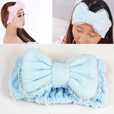 Mexican Blue Lace Brim Butterfly Shape Design short fluff Household goods