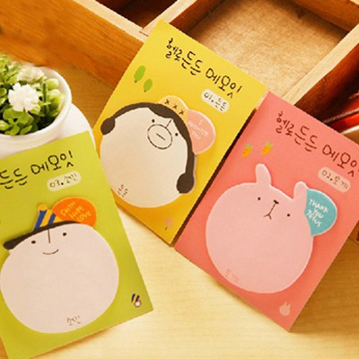 Sheer Color Will Be Random Cartoon Image Shape Design Paper Scratch Pad Sticky