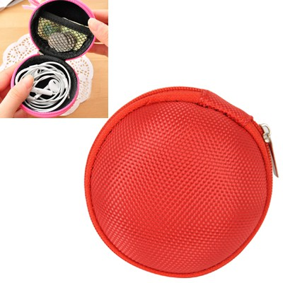 Free red multifunctional round shape design nylon Wallet