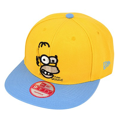 Blank Yellow Embroidery Monkey Simple Design Canvas Baseball Caps