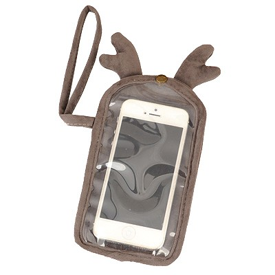 Stainless Gray Cartoon Deer Touch Screen Design