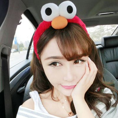 Wholesale Red Cartoon Animal Design Plush Hair band hair hoop