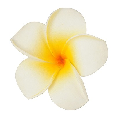 High Big Size White Flower Shape Design Bubble Hair clip hair claw