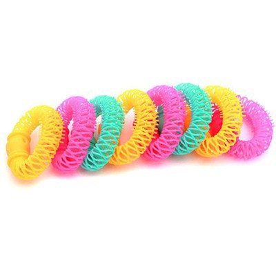 Classic Color Will Be Random Candy Color Donut Shape Design Plastic Beauty tools