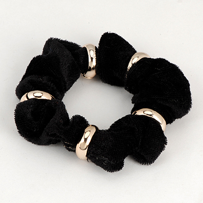 Infinity Black Five Metal Circle Decorated Alloy Hair band hair hoop