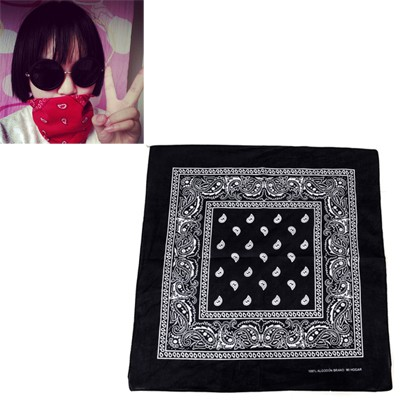 Detachable Navy Blue Cashew Nut Pattern Design Cotton Cloth Hair band hair hoop