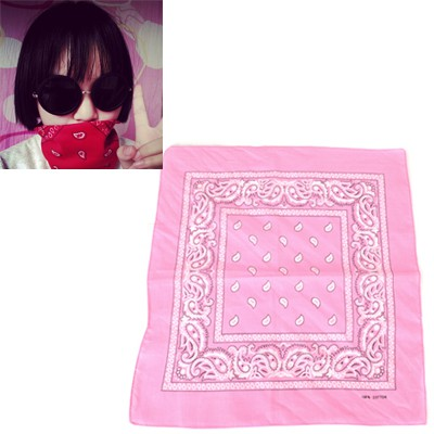 Kennedy Pink Cashew Nut Pattern Design Cotton Cloth Hair band hair hoop