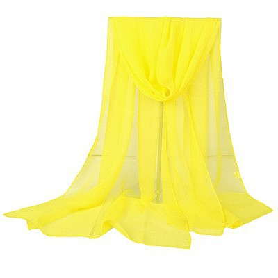 Concealed yellow pure color simple design