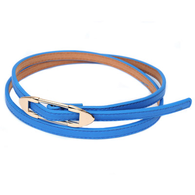 Collapsibl blue bidirectional arrow buckle design
