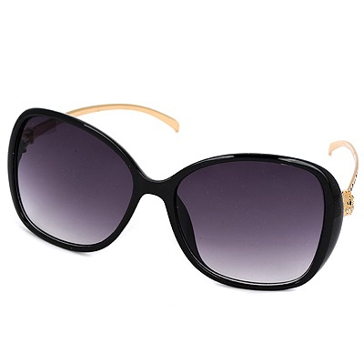 Detachable black Leopard legs fashion frame design resin Women Sunglasses