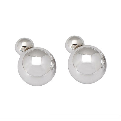 Convertibl silver color round shape simple design