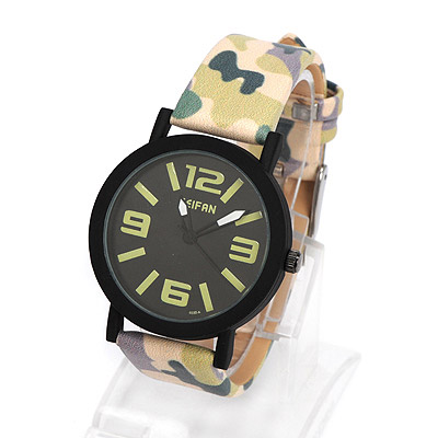 Baltic green & white camouflage pattern simple design