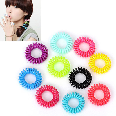 Uniqe Random Color Round Shape Simple Design Plastic Hair band hair hoop