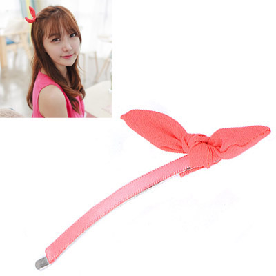 Memorial Watermelon Red Bowknot Decorated Simple Design Alloy Hair clip hair claw