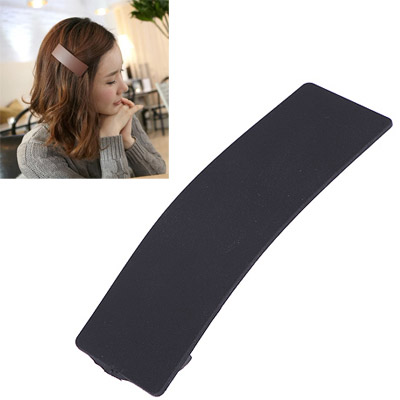 Scene Black Rectangular Shape Simple Design Acetate Sheet Hair clip hair claw