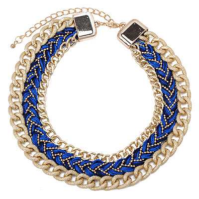 Antique Blue Twist Multilayer Design